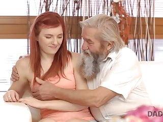 DADDY4K. Filial redhead enjoys pussy categorization for...