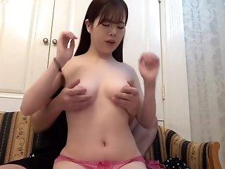 Japanese beautiful girl sex cum inside
