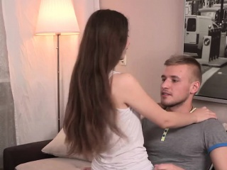 Potent teen hottie got her reprisal with an increment of cuckolds her previously to bf