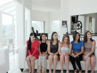 Pulchritudinous youth girls true porn audition act with milf brass hats