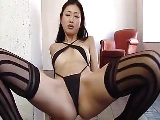 Hot asian unfocused